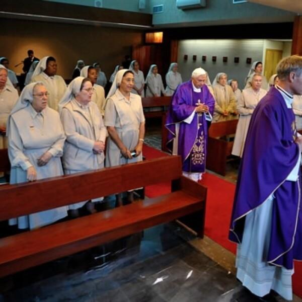 misa papa colegio miraflores benedicto xvi 7