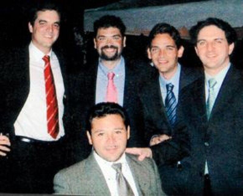 El ex secretario de Gobernación y Marigely fueron al cine con unos amigos a ver una película con Brad Pitt.