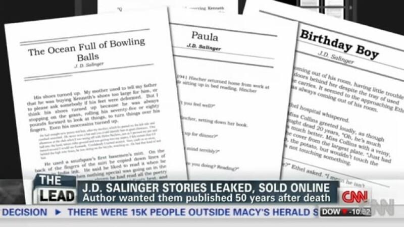 Historias de J.D. Salinger