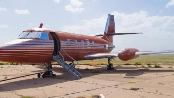"""El avión del """"Rey Criollo"""""""