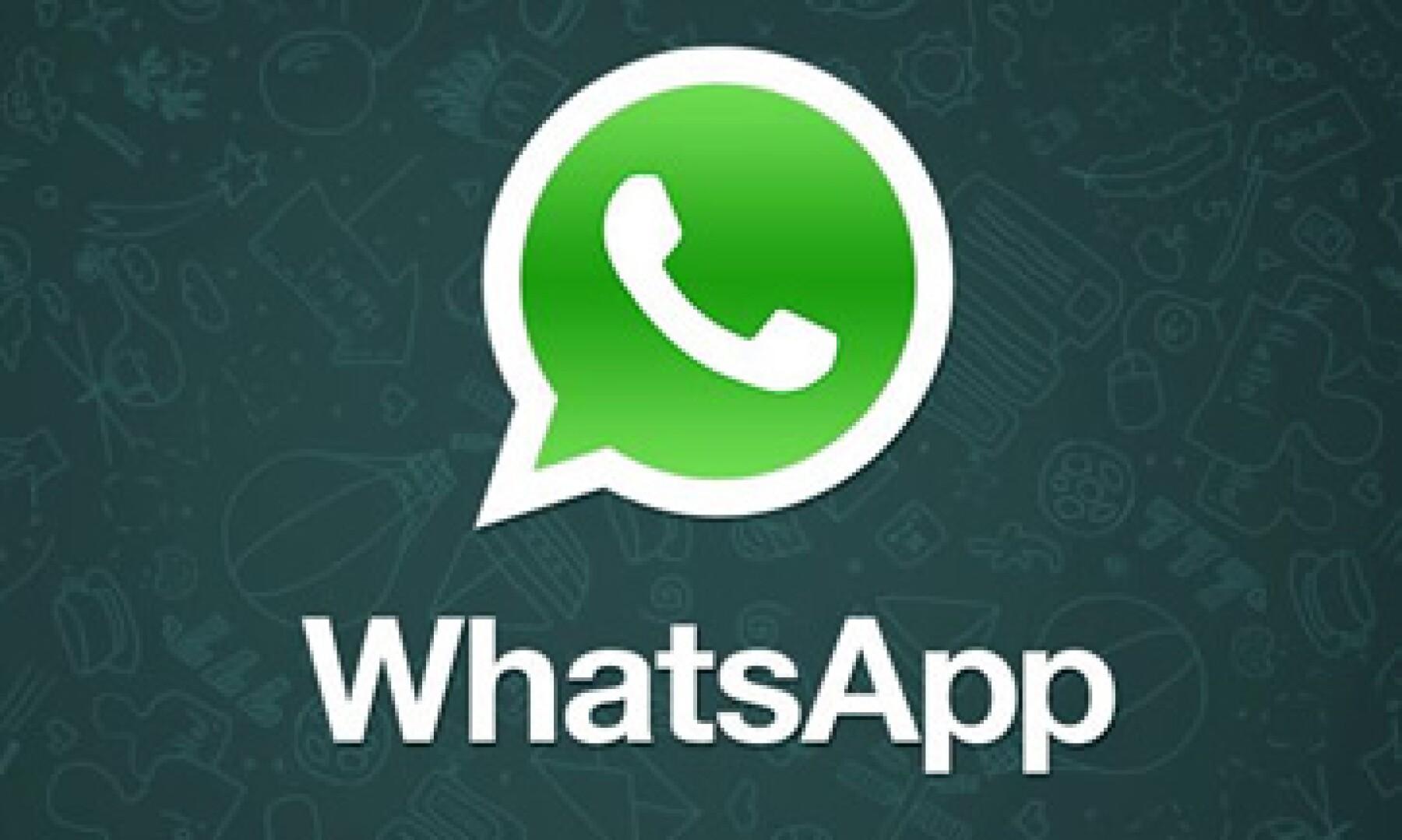 WhatsApp ha acumulado 450 millones de usuarios en poco más de cuatro años.(Foto: Tomada de Facebook.com/whatsapp.official)