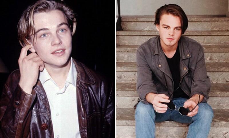 Al parecer el actor de Hollywood tiene un casi gemelo que está dando de qué hablar. Especialmente porque su parecido se asemeja al Leo de los 90.