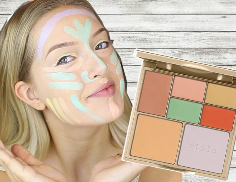 Te damos una guía rápida y sencilla para entender qué es el color correcting y por qué se está usando tanto en maquillaje.