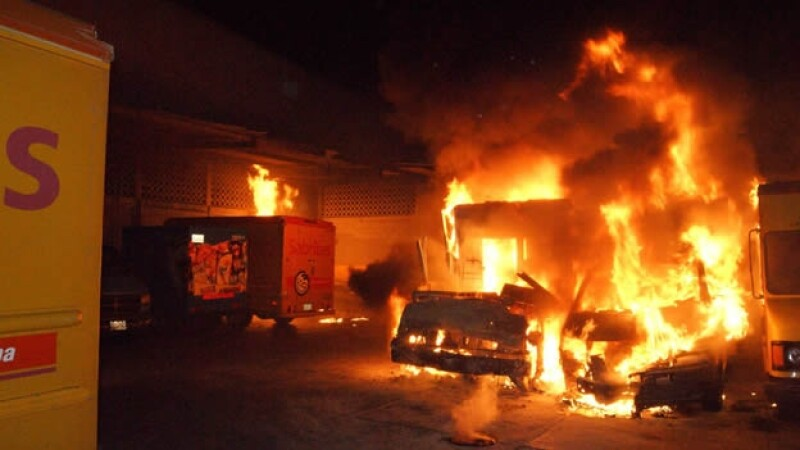 incendio en instalaciones de sabritas