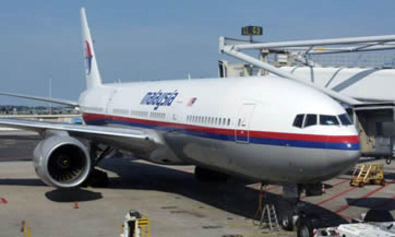 El vuelo MH17 de Ámsterdam a Kuala Lumpur. (Foto: Reuters)