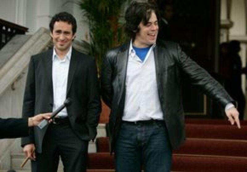 Demián y Benicio se reunieron con el mandatario venezolano, además de presentar en ese país la película Che, sobre el líder revolucionario Ernesto Guevara.