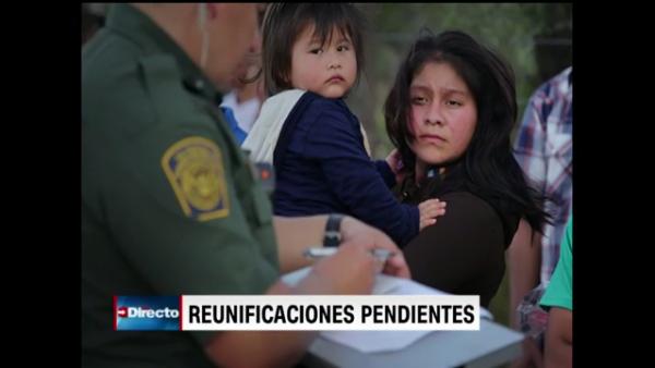 Más de 700 niños no han sido devueltos a sus familias tras la detención fronteriza