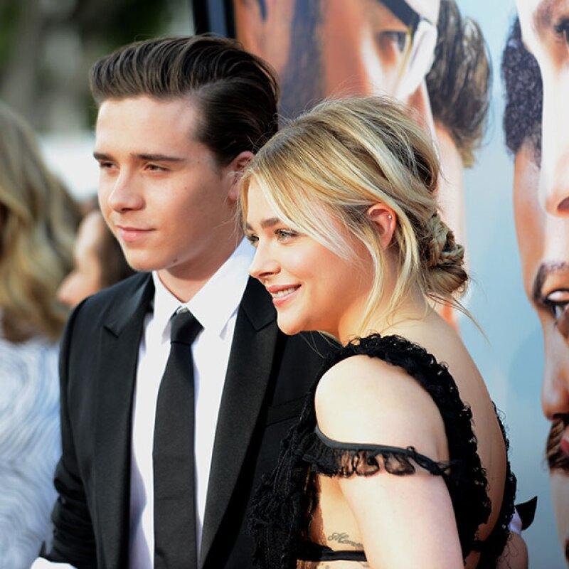 De acuerdo con la actriz, el hijo de David y Victoria Beckham es un verdadero caballero.