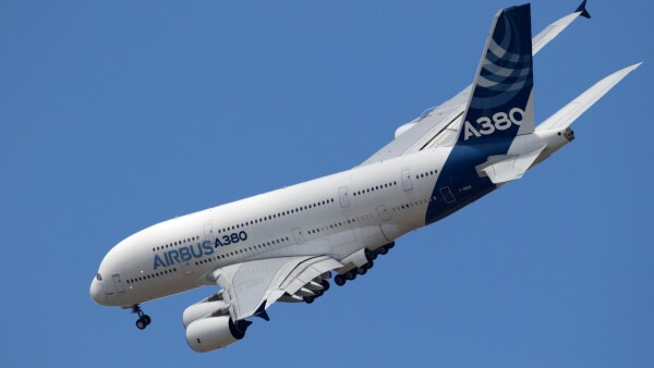 Airbus A380 airliner