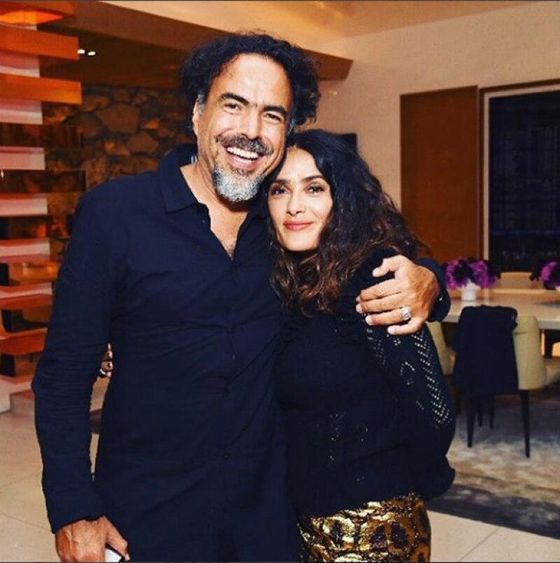También se mostró muy orgullosa del escrito de Alejandro González Iñárritu sobre la visita de Trump a México.