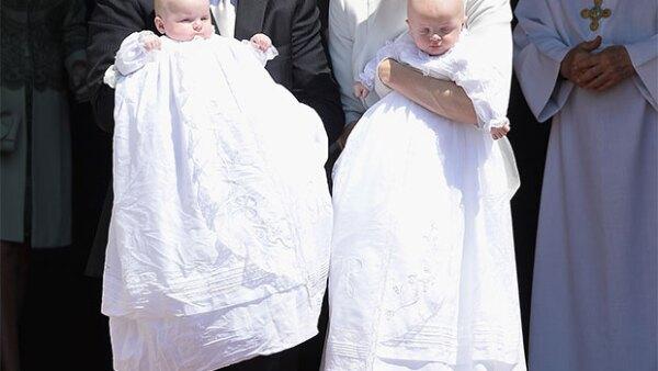 La catedral de Mónaco fue el lugar elegido para que los hijos de Albert II y Charlene recibieran el primer sacramento.
