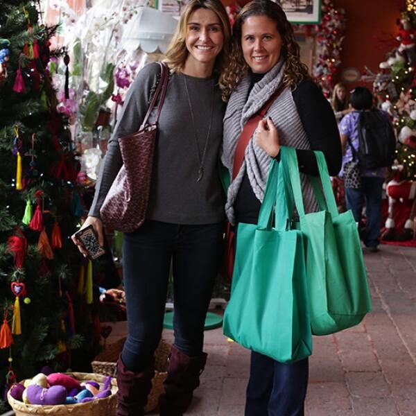 Rocío López Venero y Alejandra Káram