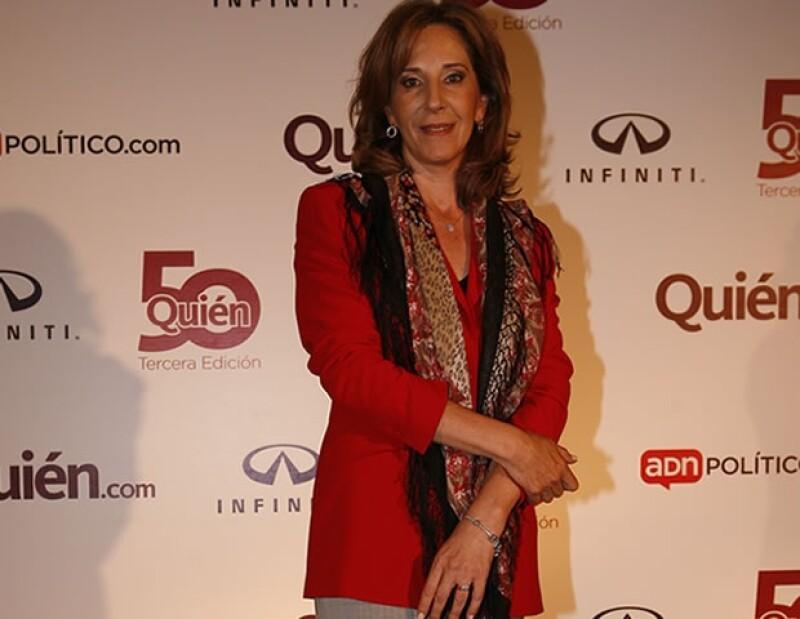 María Elena Morera fue presidenta durante cinco años de la fundación México Unido contra la Delincuencia, A.C., en la que realizó una importante labor social.