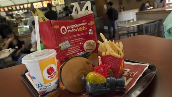 Cajita feliz de McDonalds