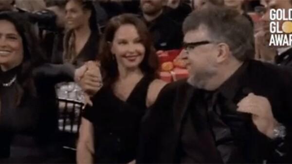 Salma Hayek y Guillermo del Toro