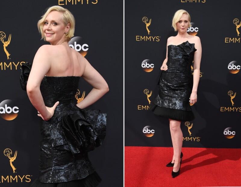 La firma Giles creó el vestido que Gwendoline llevó a los Emmy.