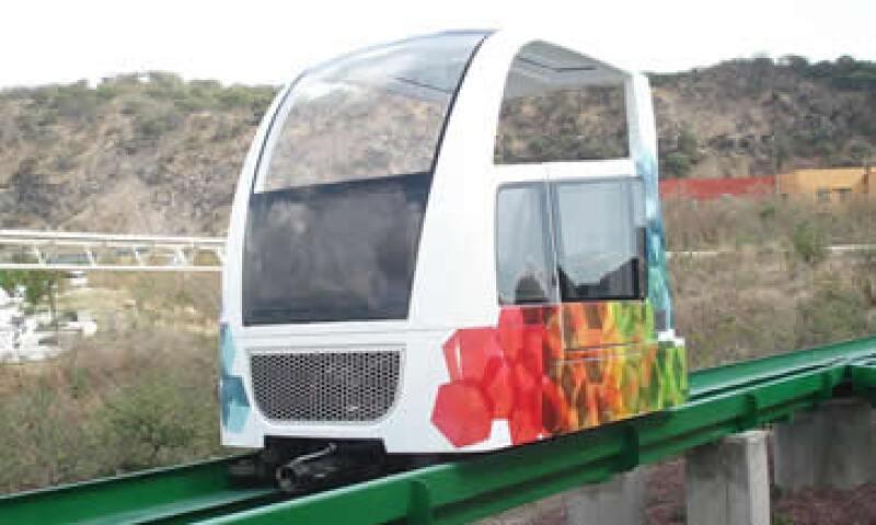 La versión de vehículos con vista panorámica funcionará en parques temáticos y destinos turísticos. (Foto: Cortesía Modutram)