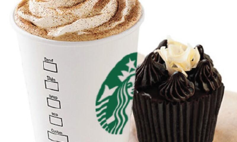 Las ventas de Starbucks crecen a doble dígito en México y América Latina. (Foto: Cortesía Alsea)