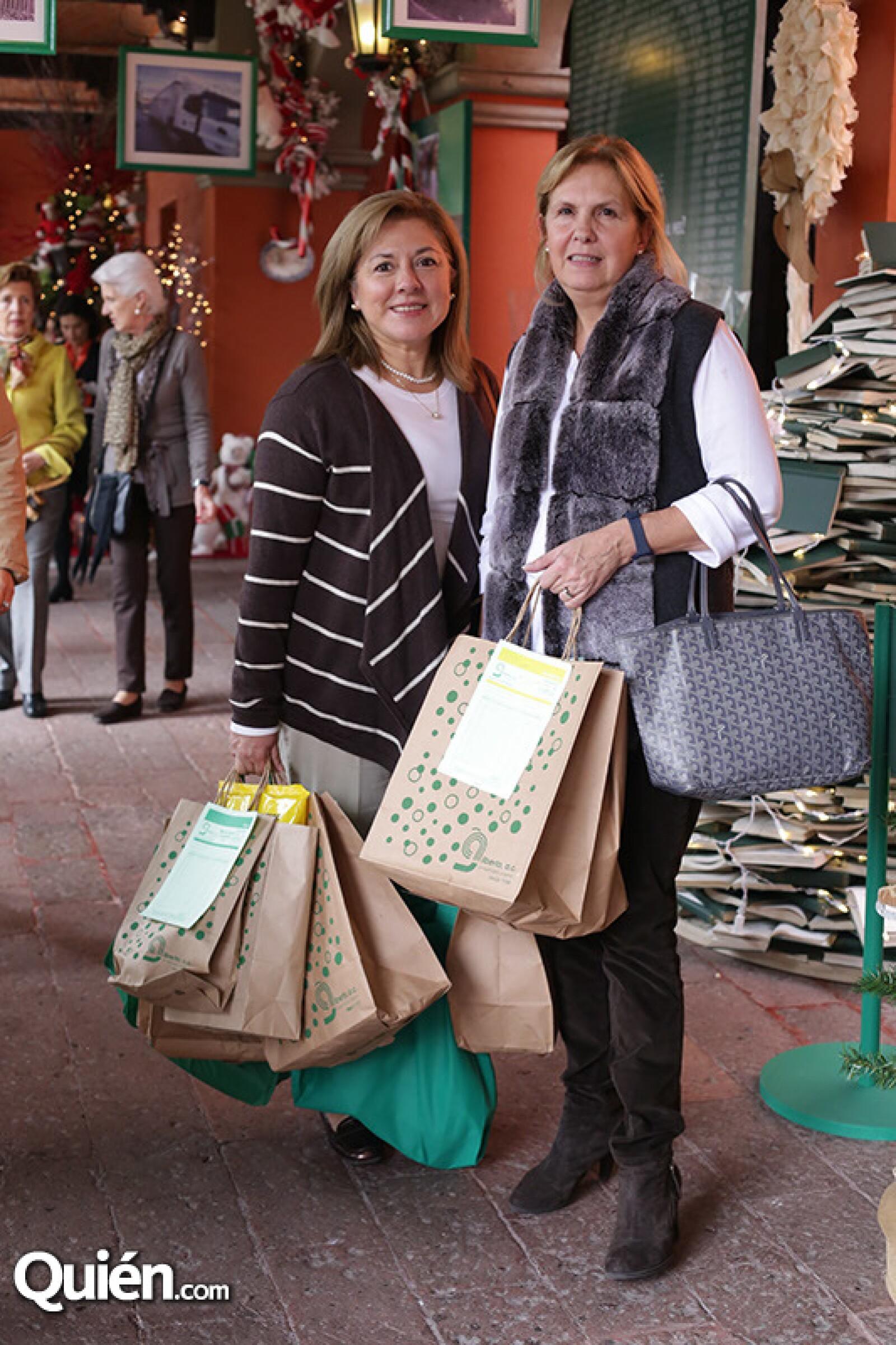 Isabel Batiz y Patricia López Morton