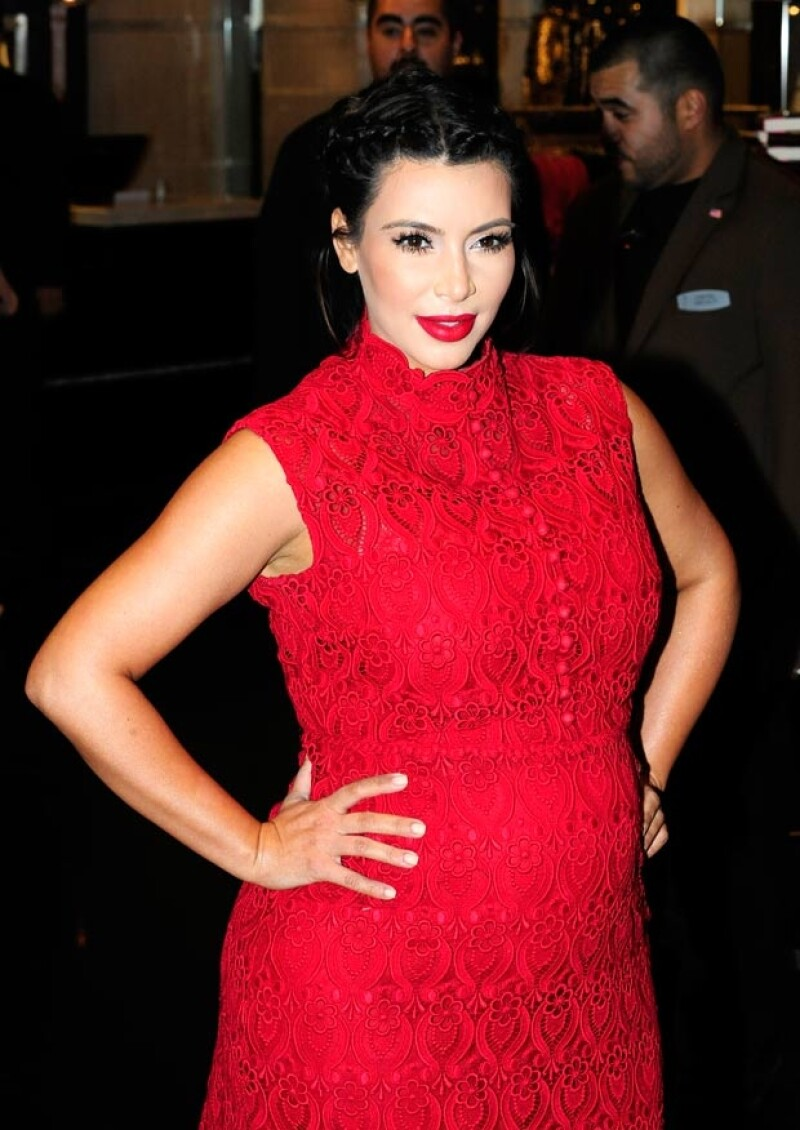 Según comentó su hermana menor Khloé, al principio Kim sufría mucho por lo que le decían, pero ahora que ya se acostumbró a su cuerpo, disfruta su embarazo.