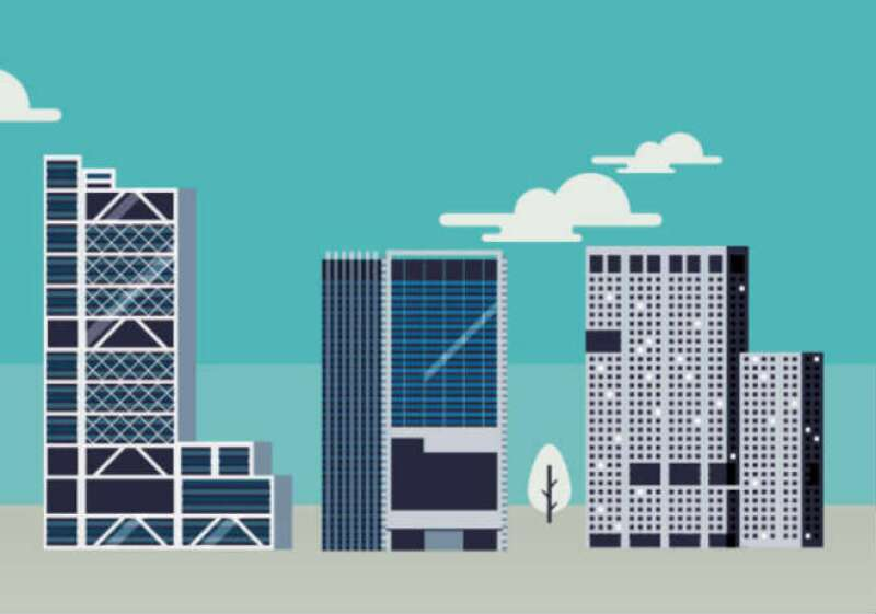 Rascacielos de la #CDMX