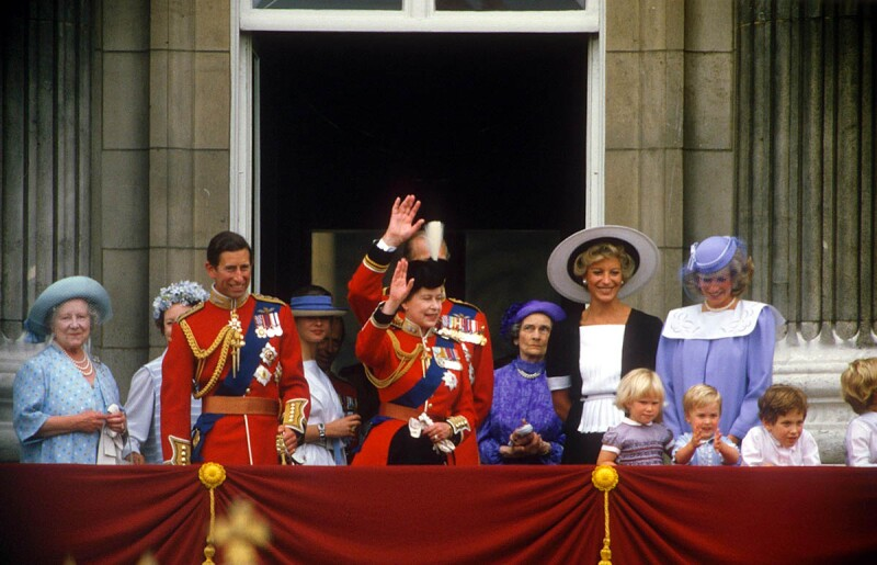 Trooping of the Colour, London, Britain - 1984