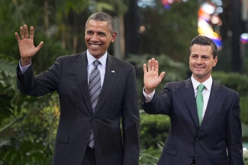 El presidente de Estados Unidos incluyó a nuestro país en sus predicciones para Brasil 2014. Dijo que de jugar una eliminatoria habría que ir pensando la apuesta con el presidente de México.