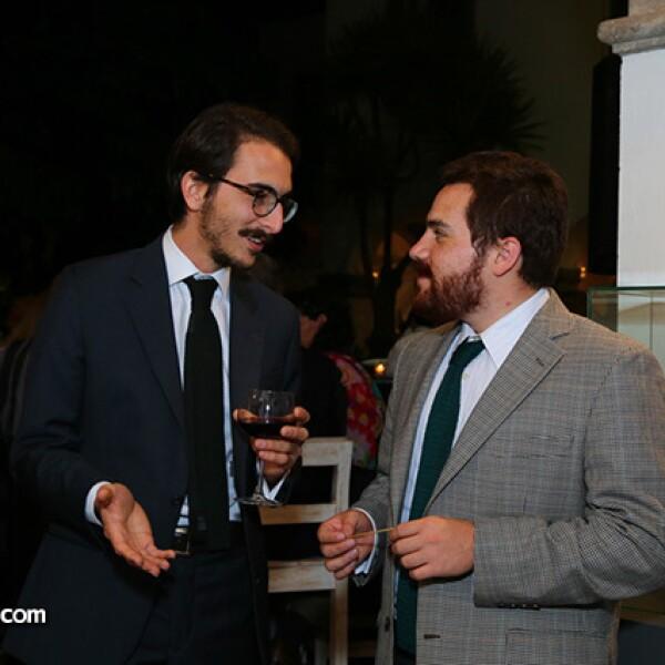 Fabio Schnitter y Esteban Sánchez
