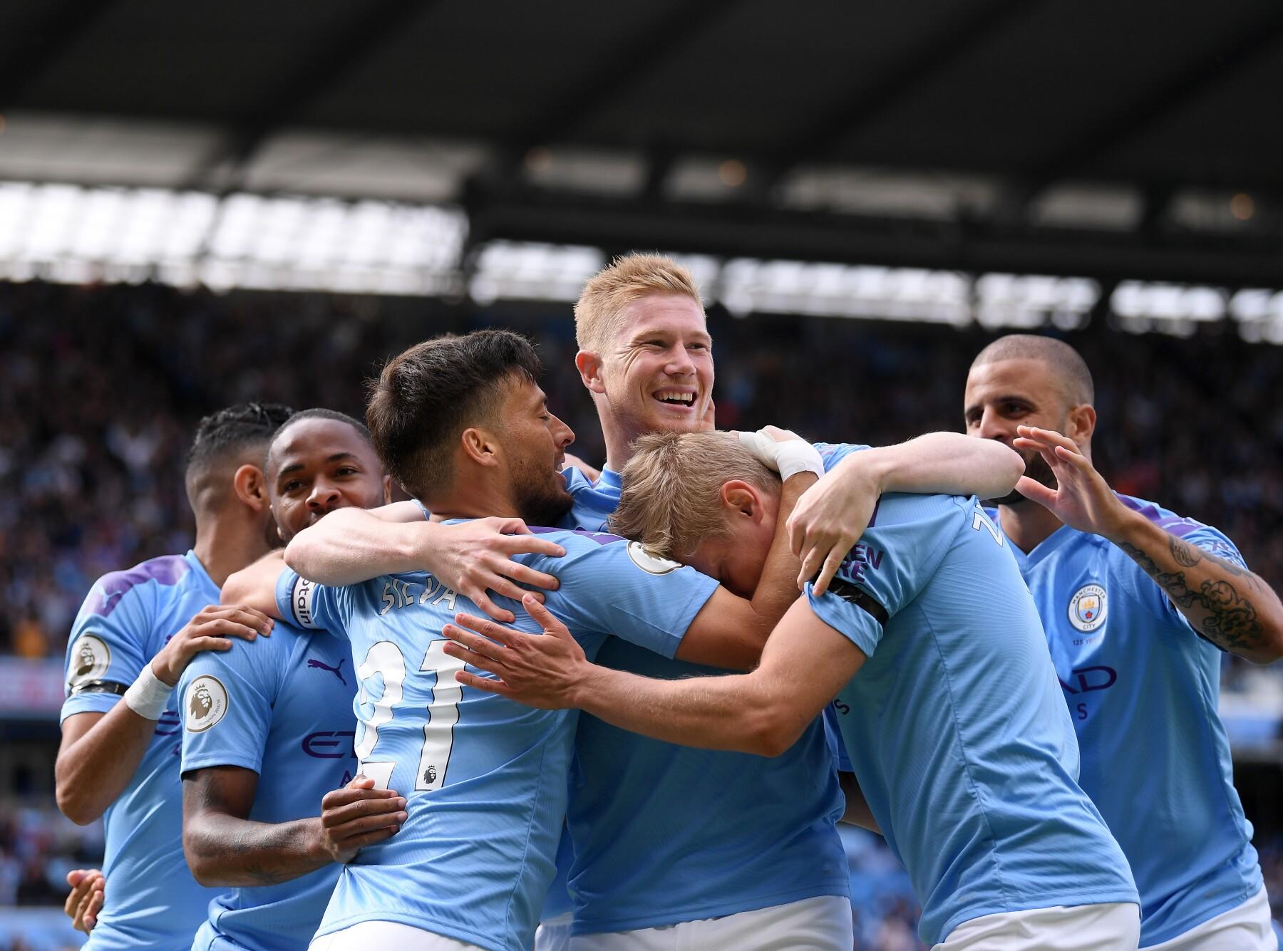 Manchester City v Brighton & Hove Albion - Premier League