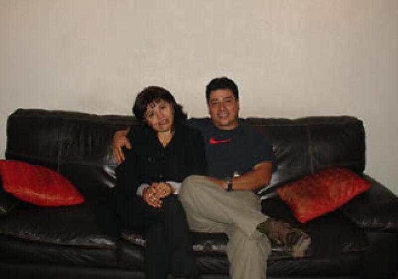 Ana y Antonio llevan 18 años como pareja y ocho como socios. (Foto: Cortesía Alta Decoración de Interiores )