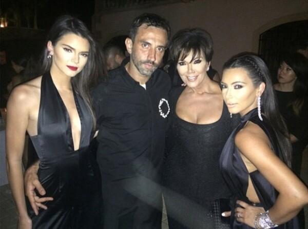 Riccardo Tisci incluyó en la lista de invitados de su lujosa fiesta a las socialités.