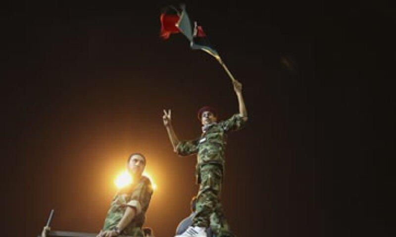 Las fuerzas rebeldes llegaron al corazón de Trípoli. (Foto: AP)