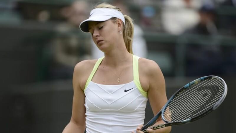 Maria Sharapova es descalificada en Wimbledon