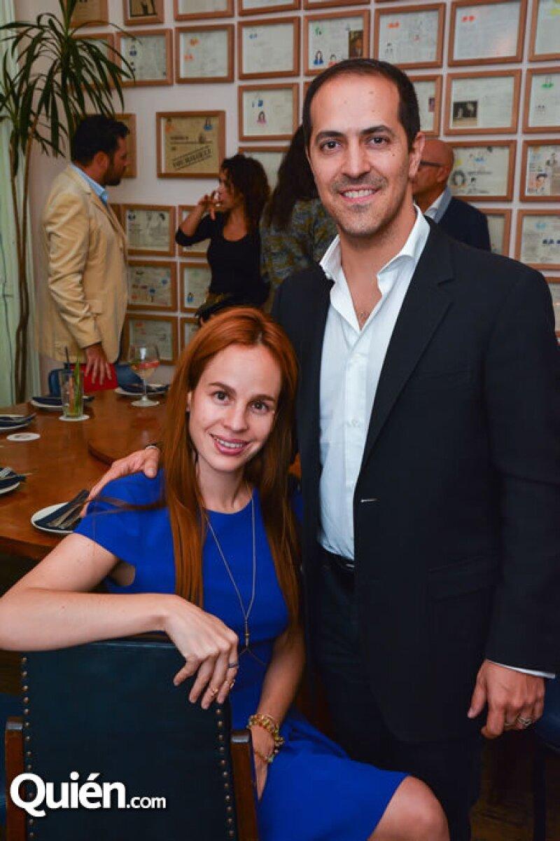 Daniela Villegas y Sami Hayek