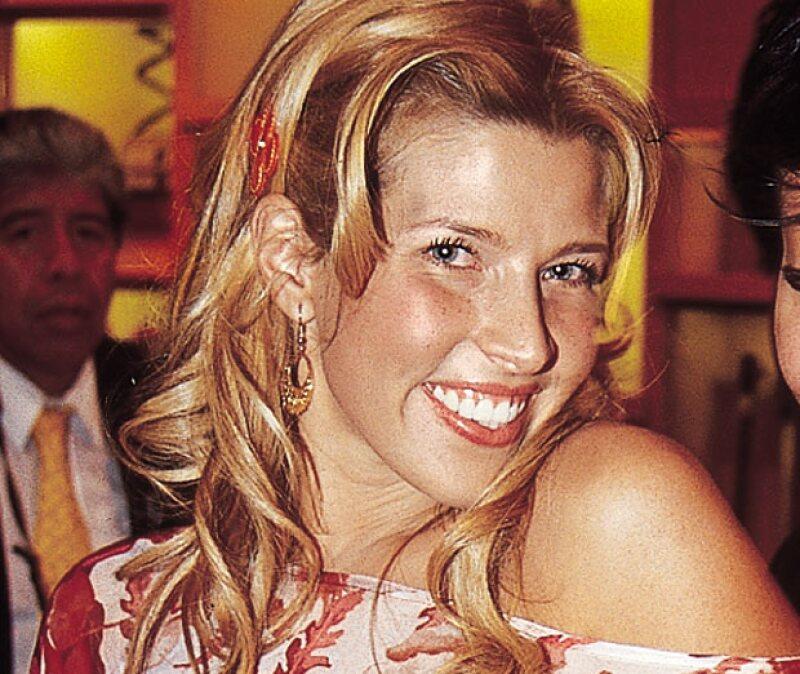 Beatriz Pasquel en 2001.