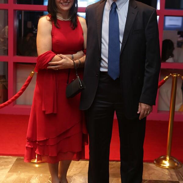 Alejandra Quezada y Sergio Chaveste