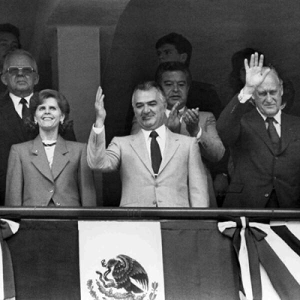 El expresidente mexicano, Miguel de la Madrid, falleció a los 77 años de edad el 1 de abril.