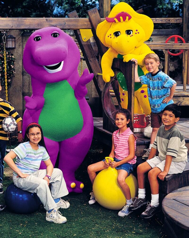 Selena comenzó su escalada al éxito en el show infantil.