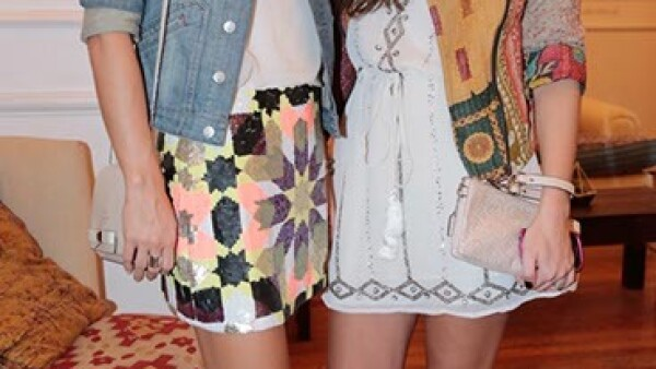 Belén Minaberria y Florencia Kuhle