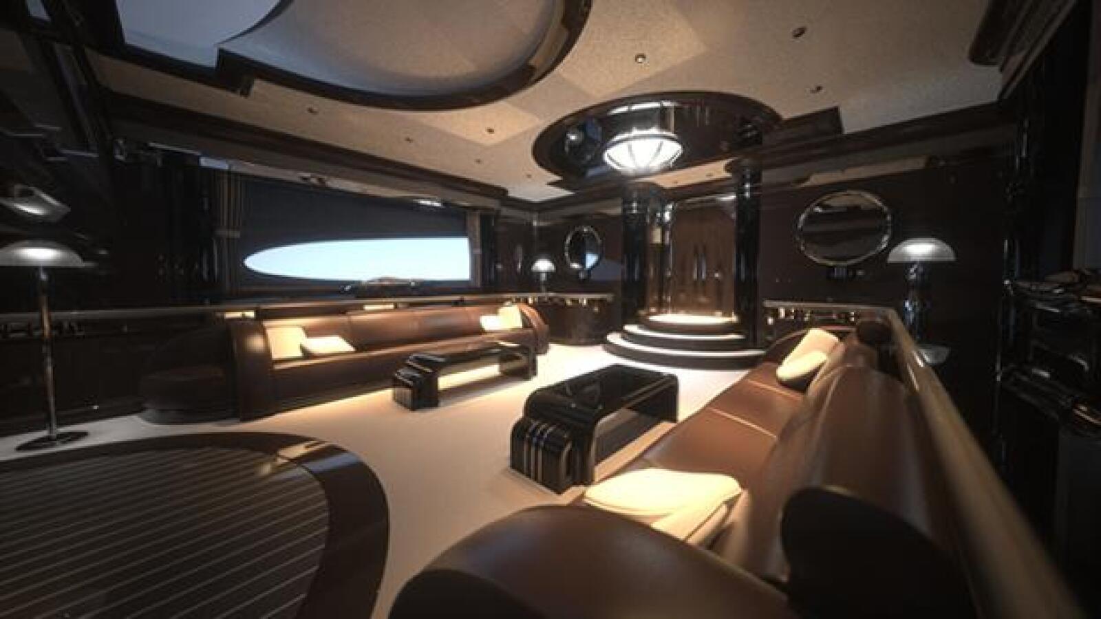 super yate super carro interior buque
