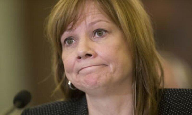 La CEO, Mary Barra, podría pagar una multa y evitar la prisión aún bajo condena. (Foto: Getty Images)
