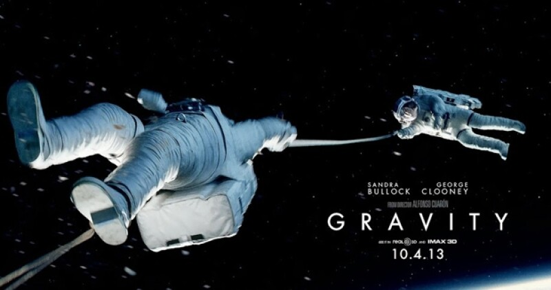 Gravity, posible ganadora al Oscar como Mejor Película.