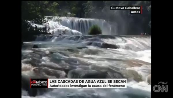 ¿Qué está pasando con las famosas Cascadas de Agua Azul, en Chiapas?