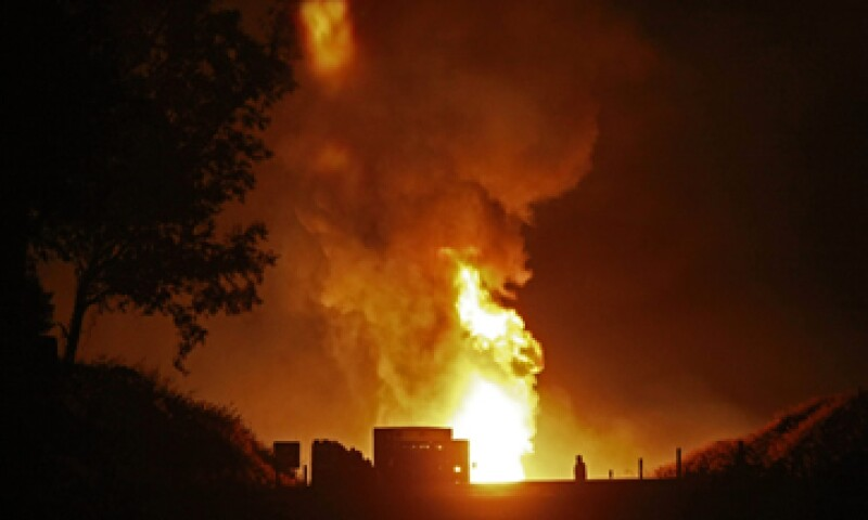 La fuga de gas se registró en el LPG ducto de 14 pulgadas Cactus-Guadalajara, tramo Santa Rita-Puente Grande. (Foto: Notimex)