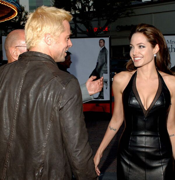 """Mr. And Mrs. Smith"" Los Angeles Premiere - Red Carpet"