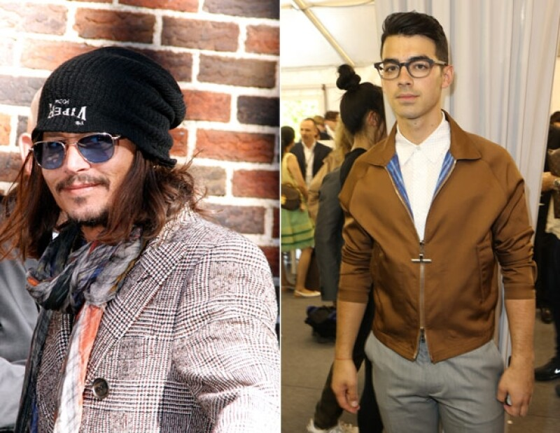 Johnny Depp y Joe Jonas