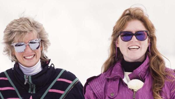 Lady Di y Sarah Ferguson