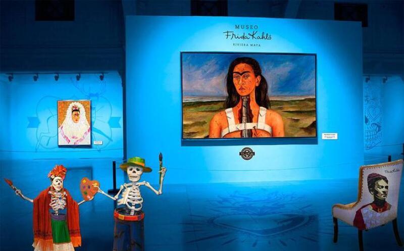 Resultado de imagen para museo frida kahlo pics