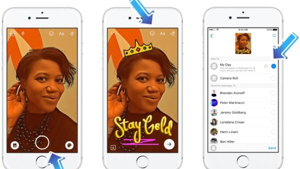 El clon de Snapchat