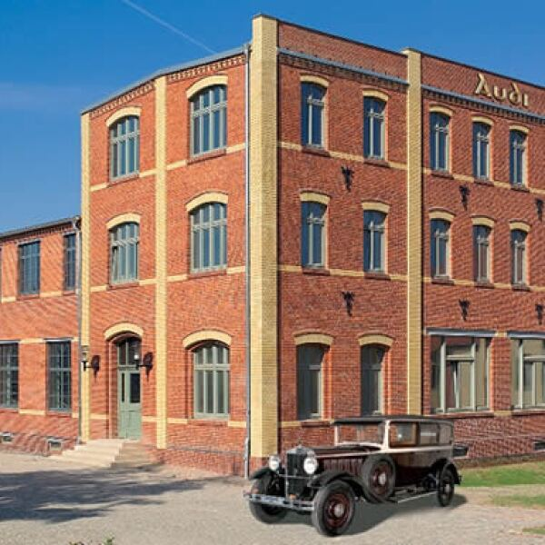 El Museo August Horch, que muestra la historia de Audi, está en el mismo edificio donde se fundo la empresa.